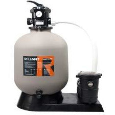 "EE 19"" Sand Filter 1 hp pump combo"