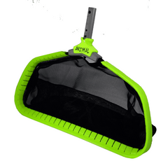 "24"" Wide Large Deep Leaf Animal Pool Skimmer Rake"