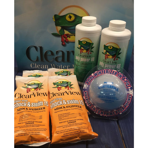 Winter Closing Kit Up to 30,000 Non-Chlorine