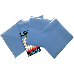 "4 Pack Solid Blue 4"" X 4"" Self Adhesive All Purpose Vinyl Patches for Pool Liners"
