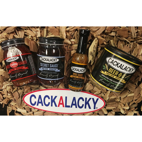 CACKALACKY Cheerwine BBQ SAUCE Beer Nut Grilling Pack