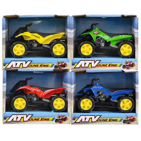 4 Pack Kids Toy Die-Cast ATVs