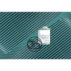 4' x 2' Pool Cover Repair Patch Kit Green Mesh Safety