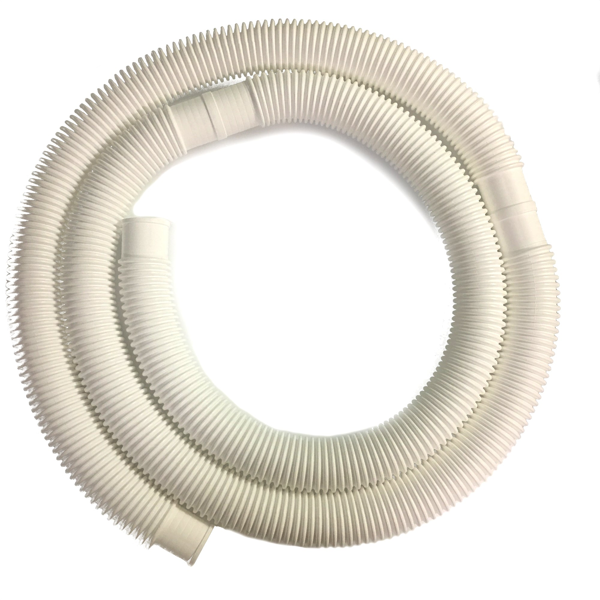 1-1/4 Inch x 15 Foot Long White Above Ground Filter Connection Hose