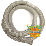 "Tiki Island Pool Express 1.50"" x 12' ft Pump Filter Connection Flex Hose for Above Ground Swimming Pools"