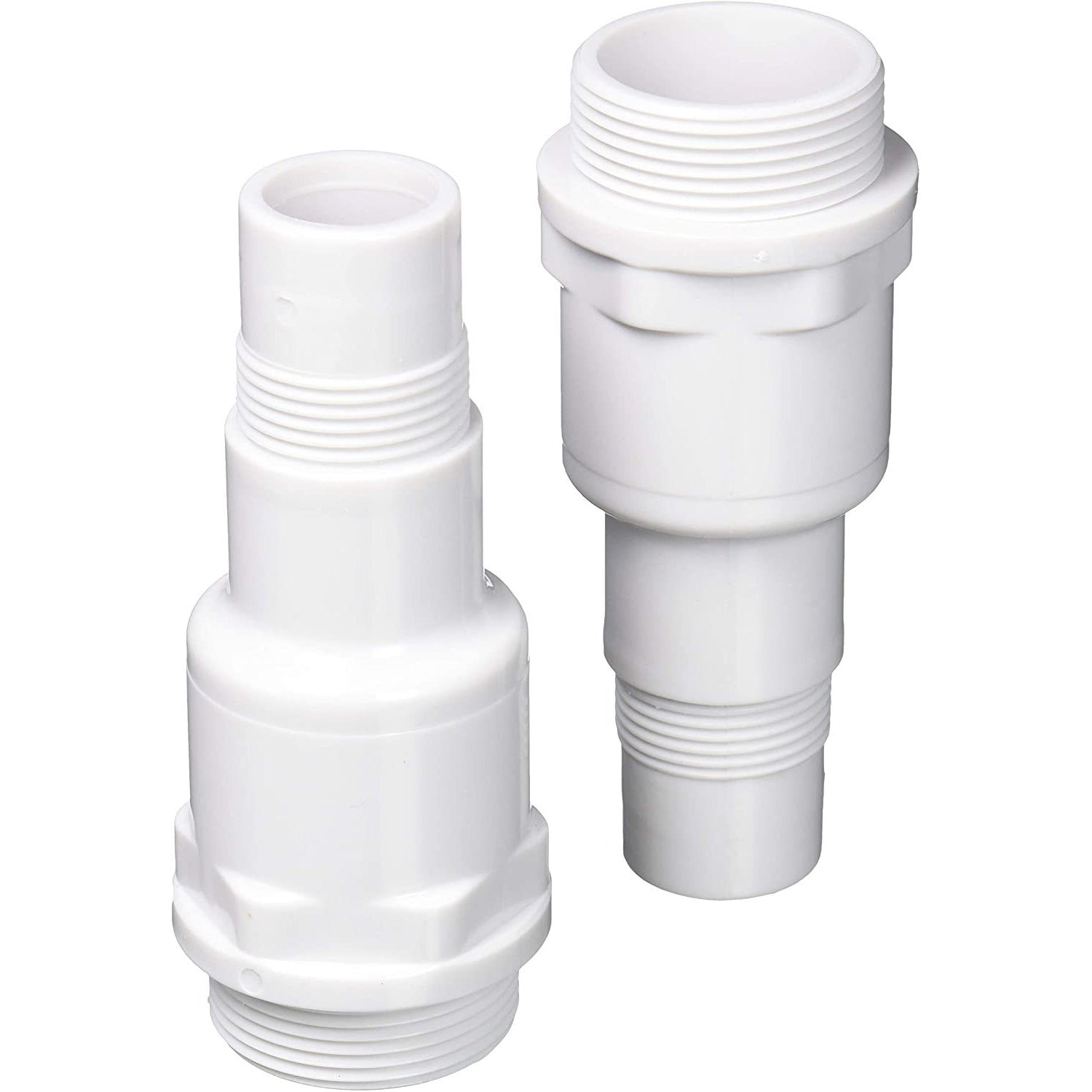 "GAME 4564 Hose Connectors Above Ground Pool Replacement Part, 1.5"", White"