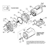 Polaris PB4-60 Prior Dec 2011 Pump Kit