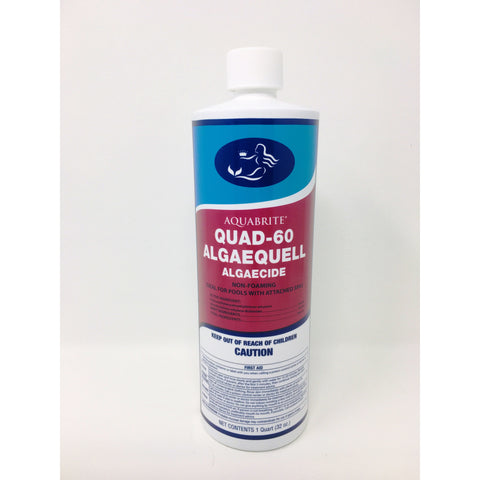 Aquabrite® Quad Poly 60 Algaecide 32 oz
