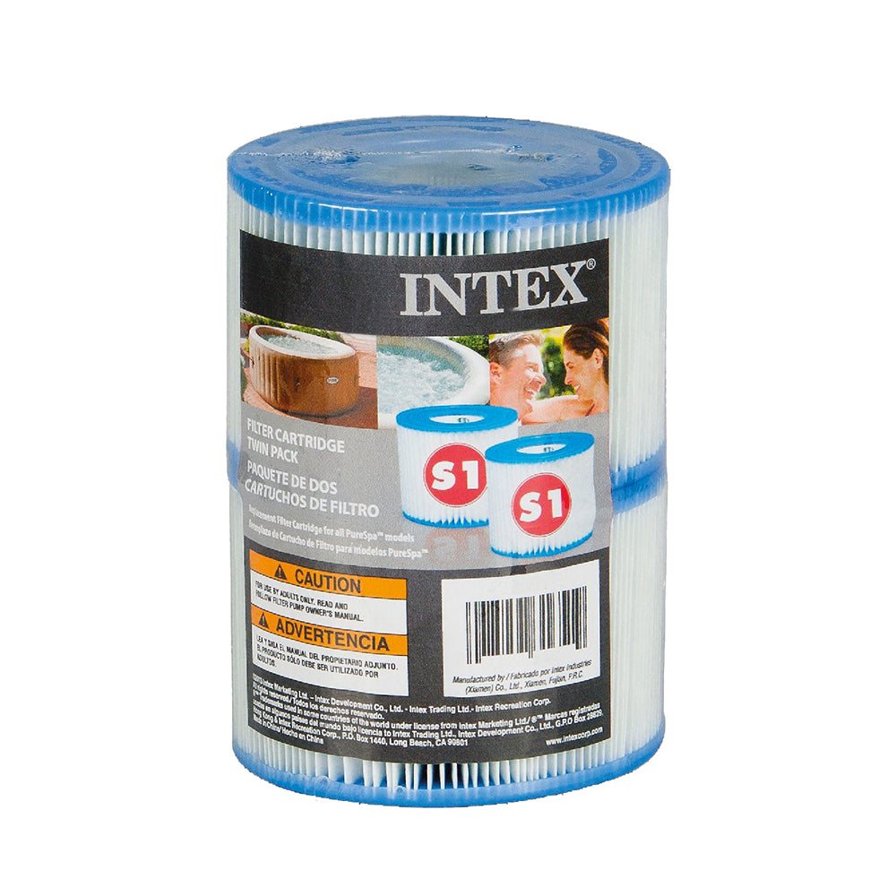 Intex S1 Spa Filter twin pack