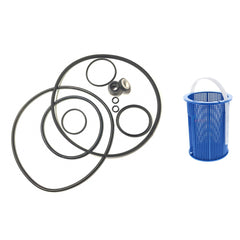 Pentair Challenger Pool Pump, Shaft Seal & O-ring Rebuild Kit + Basket