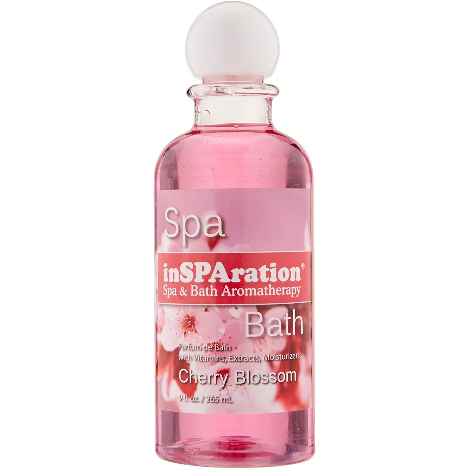 InSPAration Spa & Bath Cherry Blossom Fragrance 9 oz Bottle