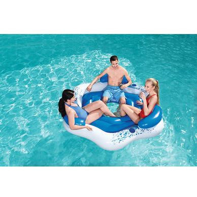 3 Person Floating Island Lounge Raft