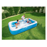 Crane 10 foot Rectangular Family Inflatable Kiddie Pool