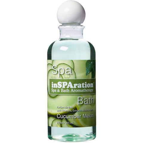 InSPAration Spa & Bath Cucumber Melon Fragrance 9 oz Bottle