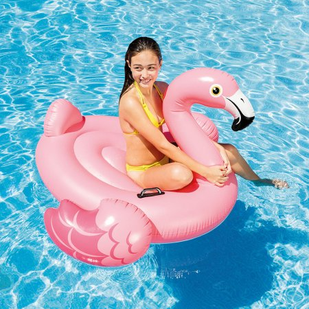 Intex Inflatable Flamingo Ride On Pool Float
