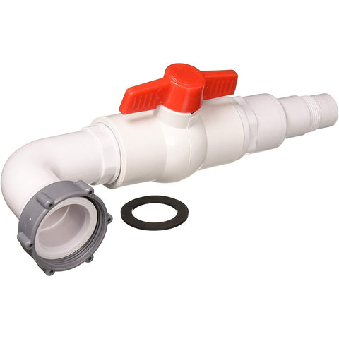GAME 4563 Shut Off Valve Above Ground Pool Replacement Part, White