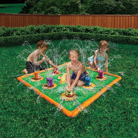 Banzai Smash 'N Splash Gopher Field Water Mat