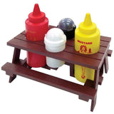 Mr BBQ Picnic Condiment Table Set