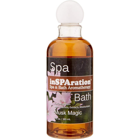 InSPAration Spa & Bath Musk Magic Fragrance 9 oz Bottle