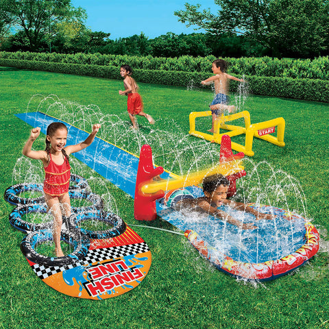 Aqua Blast Obstacle Course Slide