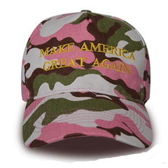 Pink Camo President Donald TRUMP 2020 MAGA Supporter HAT