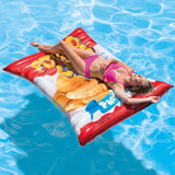 "Intex Inflatable Potato Chips Pool Float, 70"" x 55"""