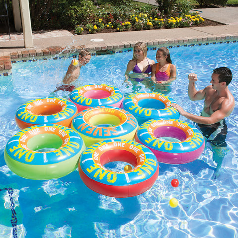 Ring a Ding Ding Island / Lucky 7 Island Game Pool Float