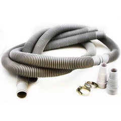 "1 1/4"" Above Ground Swimming Pool Hose Kit 12 ft Pump Filter Connection Set"