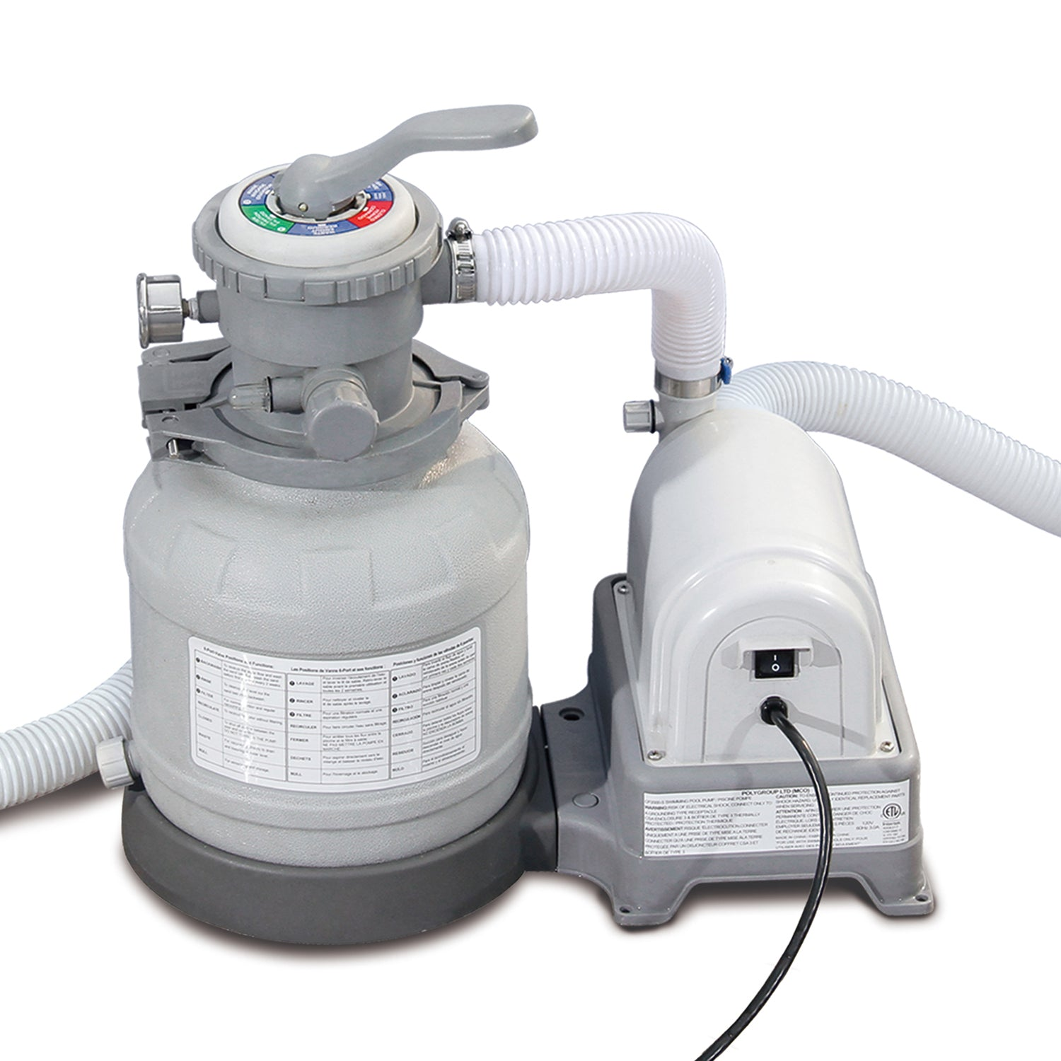 Summer Waves 10 Quot Swimming Pool Sand Filter Pump With Gfci