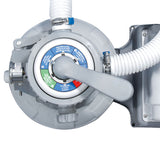 "Summer Waves 10"" Swimming Pool Sand Filter Pump with GFCI"
