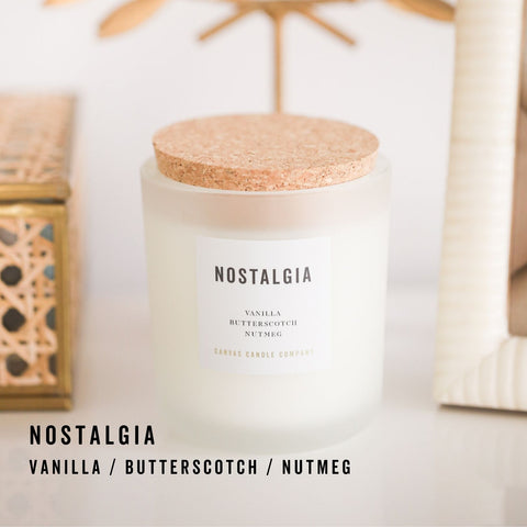 Canvas Candle Co. Fall Soy Candle