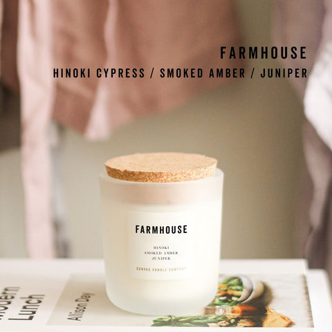 Canvas Candle Co. Fall Soy Candles