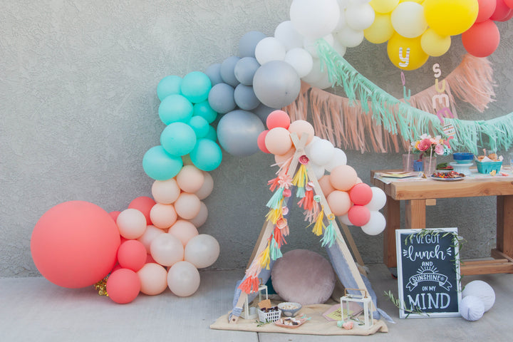 Backyard Summer Picnic featured on Kara's Party Ideas