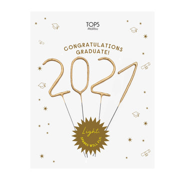 2021 Graduation Sparkler Card