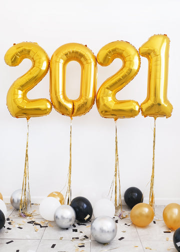 2021 Numbers | NYE Balloongram