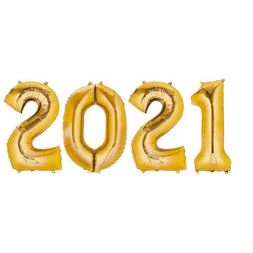 2021 Jumbo Number Gold