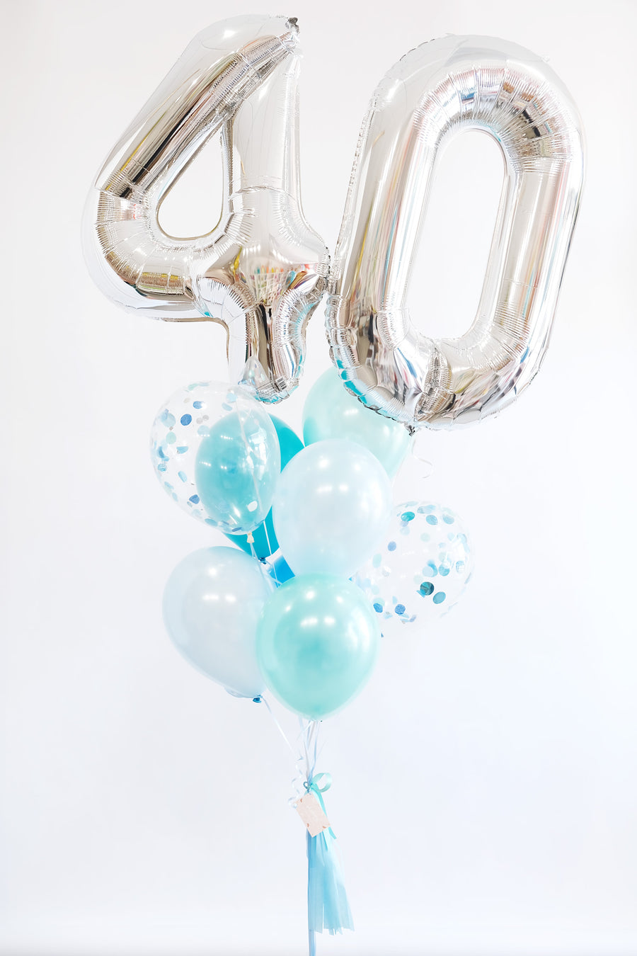Birthday Glow Balloongram - Pick your number/colors!