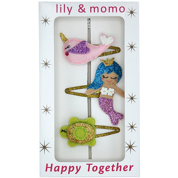 Mermaid Tale Trio Hair Clips