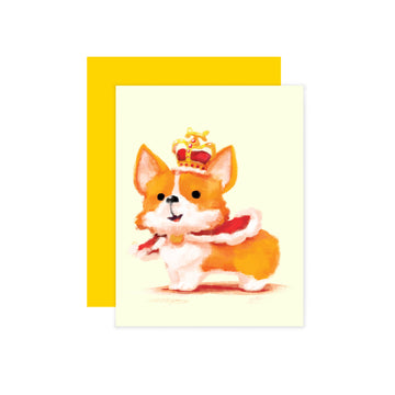 Royal Corgi Card