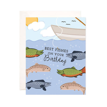 Best Fishes Birthday Card