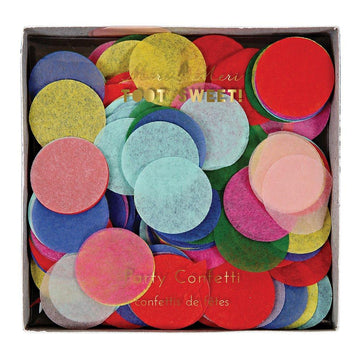 Bright Party Confetti Box