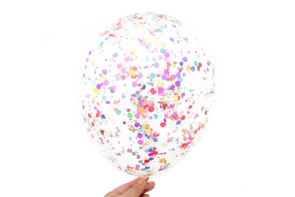 Confetti Balloons - Pack of 6 - Fruity Pebbles