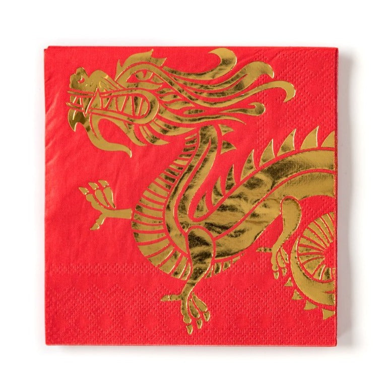 Dragon Chinese New Year Napkins