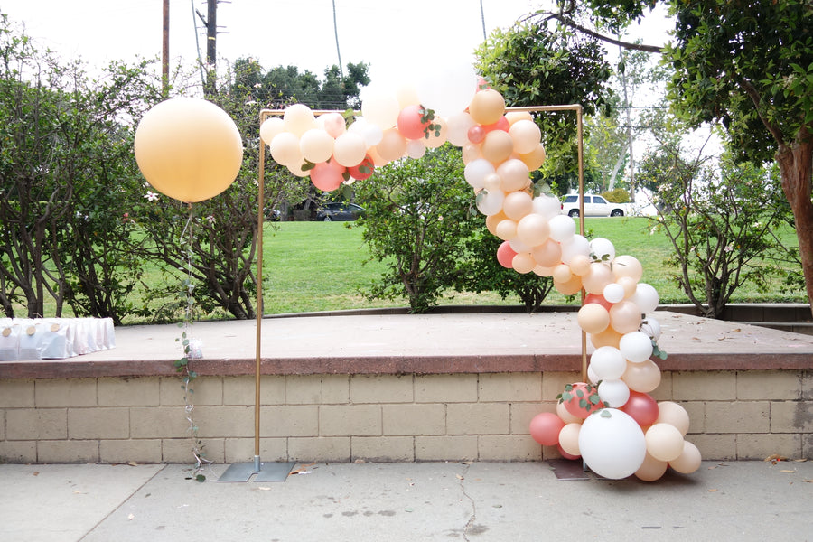 Balloon Garland DIY Kit in Rose Gold and Peach