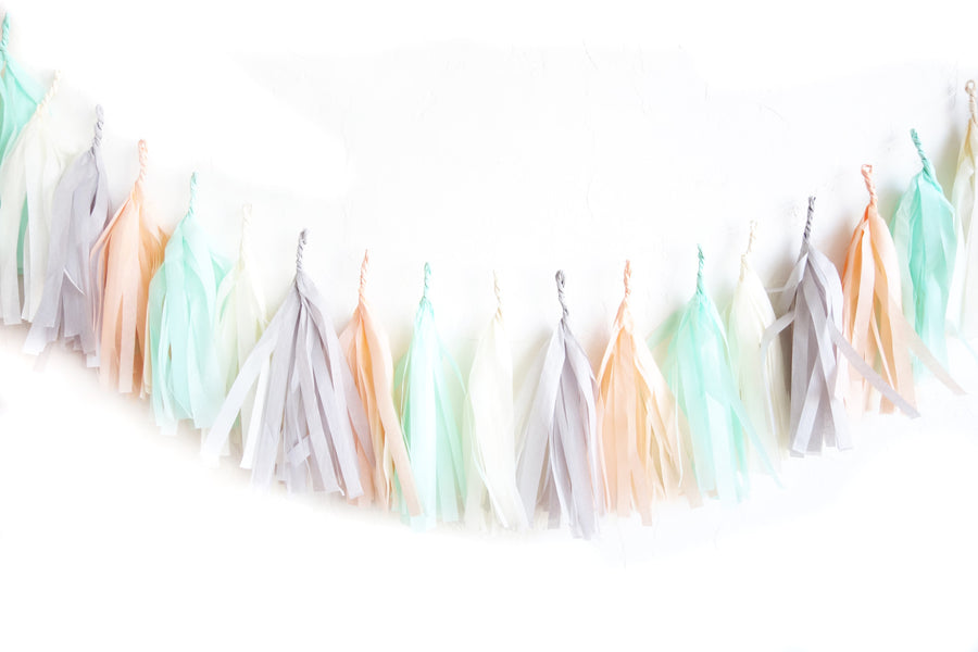 The Creamery Tassel Garland