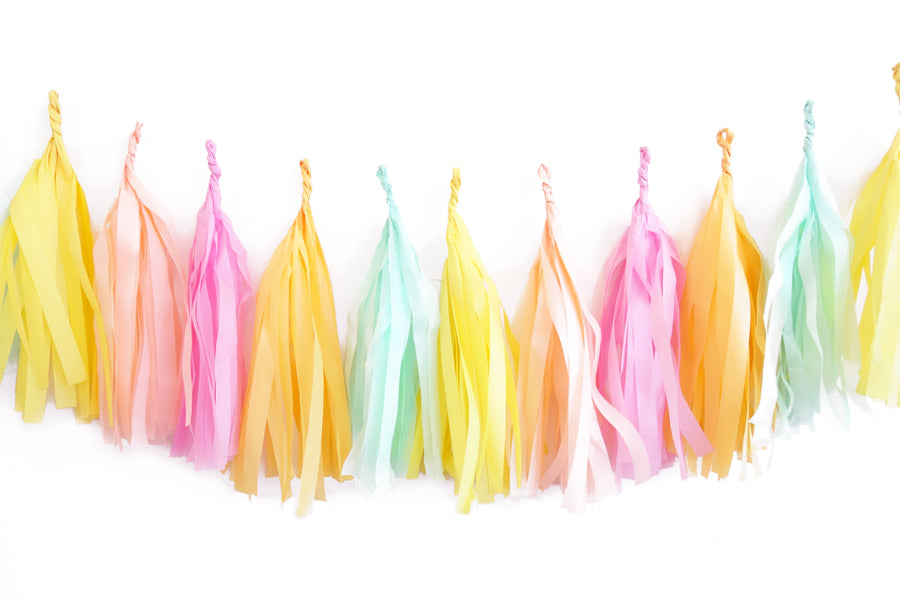 Sunkissed Tassel Garland