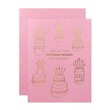 Delicious Birthday Card