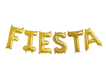 FIESTA letter balloon kit