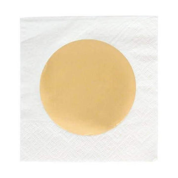 Gold Dot Napkins