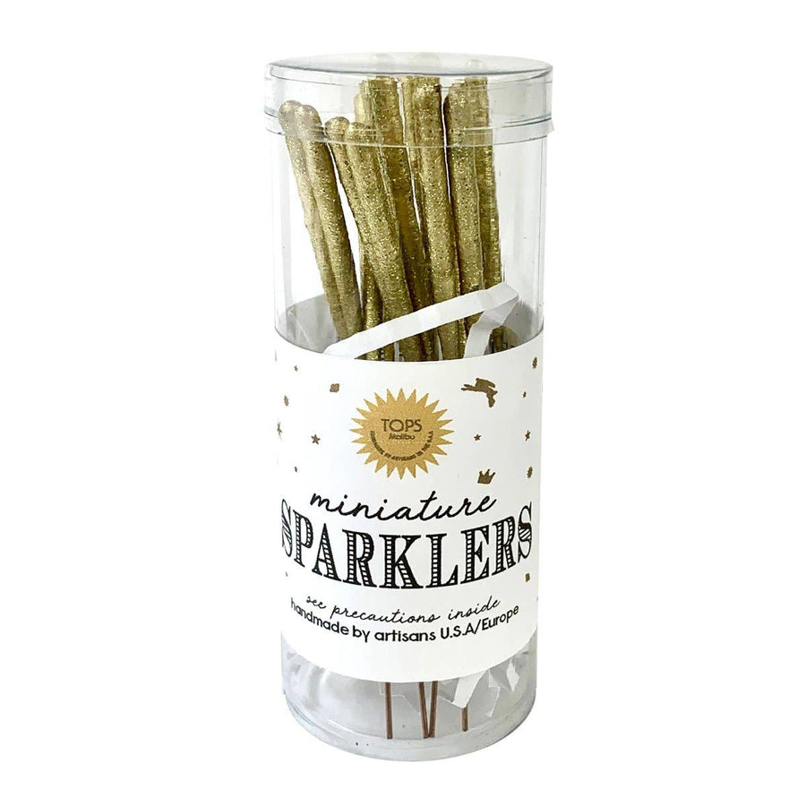 Gold Mini Sparklers Set
